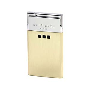 Elie Bleu Delgado Thin Flame Lighter in two-Tone Satin - L1023