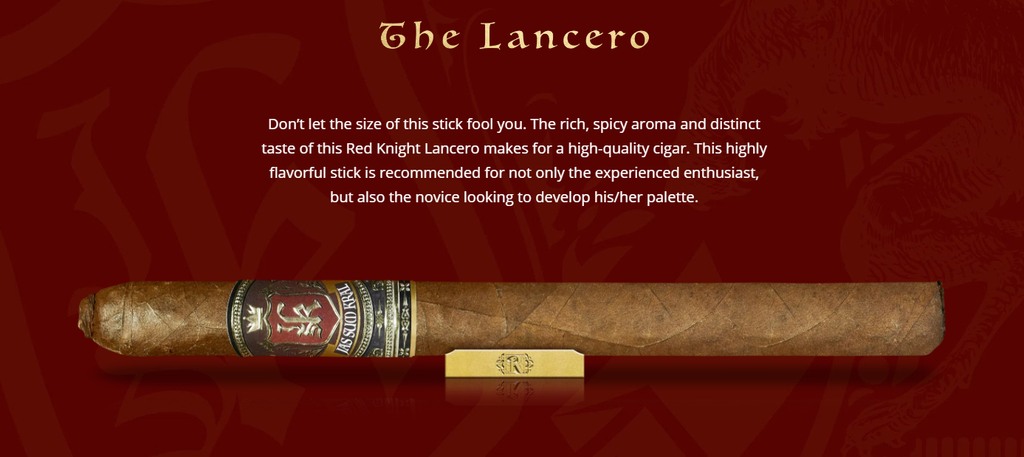 Jas Sum Kral Red Knight Lancero (Single)