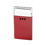 Elie Bleu Delgado Thin Flame Lighter in Red Lacquer - L1024