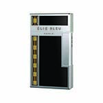 Elie Bleu Covered Jet Flame Lighter in Black Lacquer & Alba Marquetry - L1040
