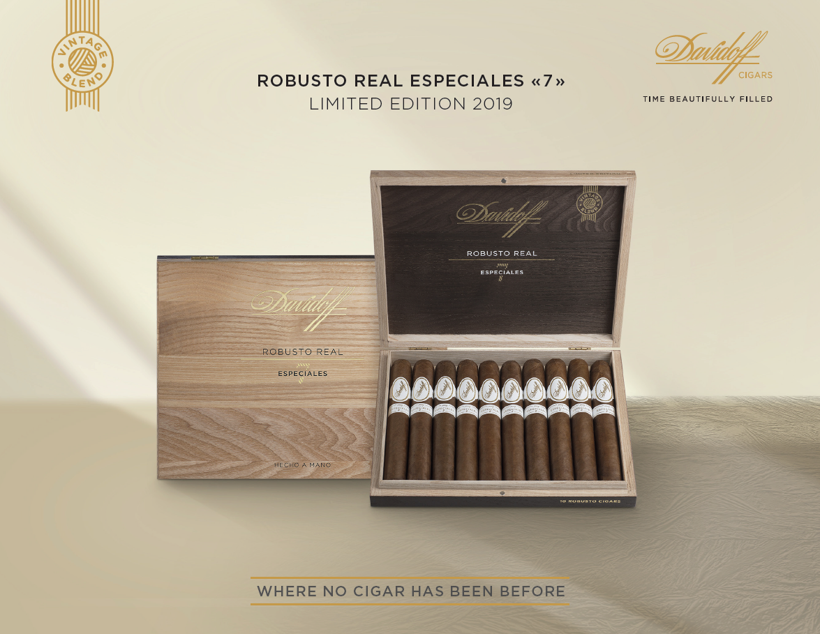 2019 Davidoff Robusto Real Especiales