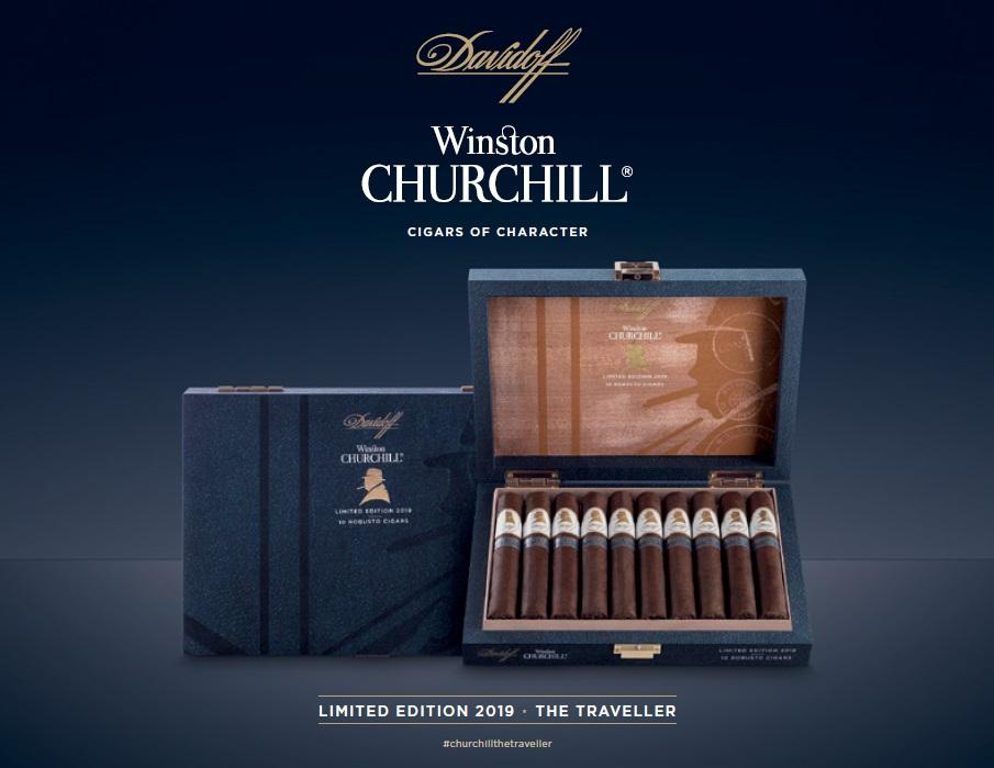 Davidoff Limited Edition 2019 Davidoff Winston Churchill The Traveller